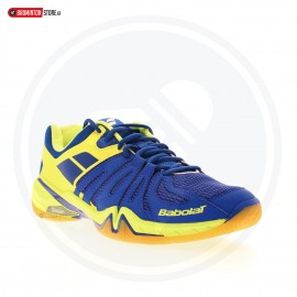 BABOLAT SHADOW SPIRIT MEN BLEU JAUNE FLUO