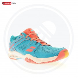 BABOLAT SHADOW TEAM WOMEN BLEU/ROSE