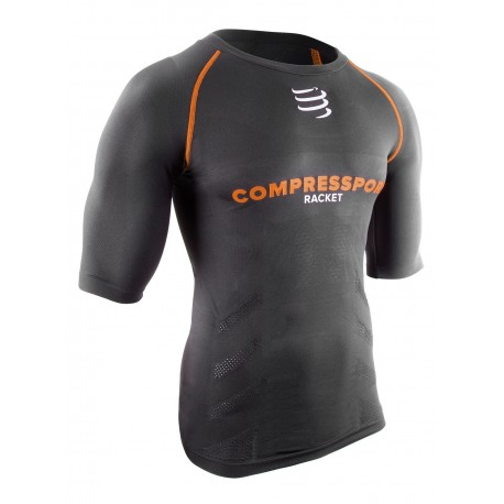 COMPRESS SPORT ON/OFF SHORT SLEEVE TOP