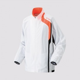 YONEX MEN'S WARM-UP JACKET BLANC