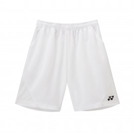 YONEX MEN'S GAME HALF PANTS BLANC