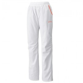 YONEX WOMEN'S WARM-UP PANTS 67014EX BLANC