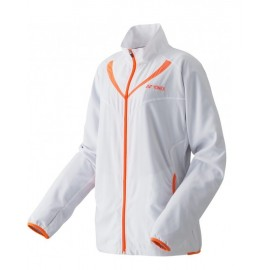 YONEX WOMEN'S WARM-UP JACKET 57014EX BLANC