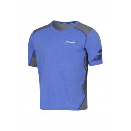 BABOLAT TEE-SHIRT V-NECK PERFORMANCE 2MS16012 MEN BLEU