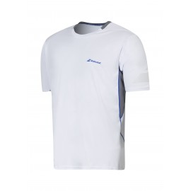 BABOLAT TEE-SHIRT CREW NECK PERFORMANCE 2MS16011 MEN BLANC