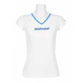BABOLAT TEE-SHIRT TRAINING BASIC 41F1472 WOMEN BLANC