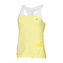 BABOLAT TANK RACERBACK PERFORMANCE 2WS16072 WOMEN LIME WASHED