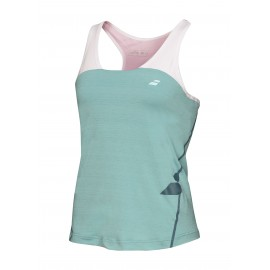 BABOLAT TANK RACERBACK PERFORMANCE 2WS16072 WOMEN MINERAL BLUE
