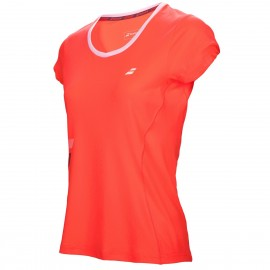 BABOLAT TEE-SHIRT FLAG CORE 3WS17011 WOMEN ORANGE
