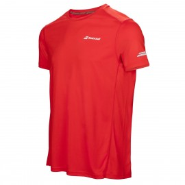 BABOLAT TEE-SHIRT FLAG CORE 3MS17011 MEN ROUGE