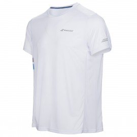 BABOLAT TEE-SHIRT FLAG CORE 3MS17011 MEN BLANC