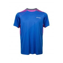 BABOLAT TEE-SHIRT CREW NECK PERFORMANCE 2MS17011 MEN NOTICAL BLUE