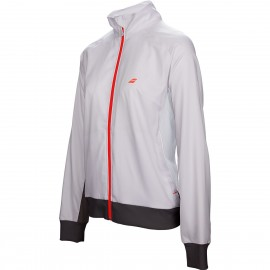 BABOLAT JACKET CLUB CORE 3WS17121 WOMEN BLANC