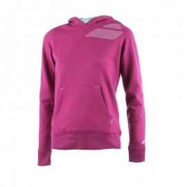 BABOLAT SWEAT HOOD CORE 41F1588 WOMEN GRIS