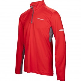 BABOLAT 1/2 ZIP CORE 3MS17171 MEN ROUGE
