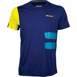 BABOLAT TEE-SHIRT CREW NECK PERFORMANCE 2MS18011 MEN BLEU