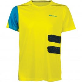 BABOLAT TEE-SHIRT CREW NECK PERFORMANCE 2MS18011 MEN JAUNE