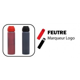 WEST GUT FEUTRE MARQUAGE LOGOS ROUGE