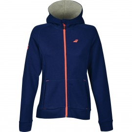 BABOLAT SWEAT HOOD CORE 3WS18041 WOMEN ESTATE BLUE