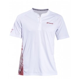 BABOLAT POLO PERF 2MS19021 MEN WHITE SALSA