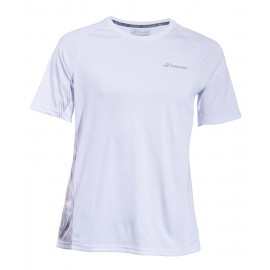 BABOLAT TEE-SHIRT CREW NECK PERFORMANCE 2MS19011 MEN WHITE SILVER