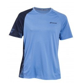 BABOLAT TEE-SHIRT CREW NECK PERFORMANCE 2MS19011 MEN PARISIAN BLUE BLACK