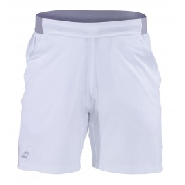 BABOLAT SHORT PERFORMANCE 2MS19061 MEN WHITE SILVER