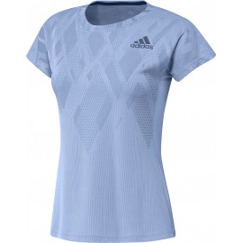 ADIDAS COLOUR BLOCK TEE WOMEN BLUE