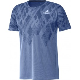 ADIDAS COLOUR BLOCK TEE MEN BLUE
