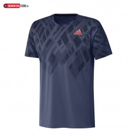 ADIDAS COLOUR BLOCK TEE MEN INDIGO