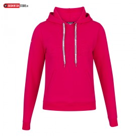 BABOLAT EXERCISE HOOD SWEAT 4WP1041 WOMEN ROSE