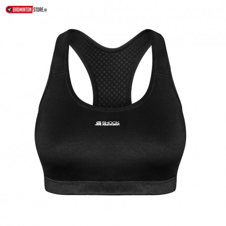 SHOCK ABSORBER ACTIVE CROP TOP S04N0 NOIR