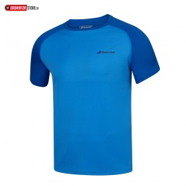 BABOLAT PLAY CREW NECK TEE 3MP1011 MEN BLEU ASTER
