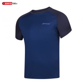 BABOLAT PLAY CREW NECK TEE 3MP1011 MEN ESTATE BLUE