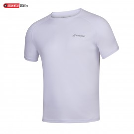 BABOLAT PLAY CREW NECK TEE 3MP1011 MEN BLANC