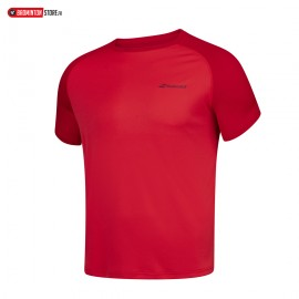 BABOLAT PLAY CREW NECK TEE 3MP1011 MEN ROUGE