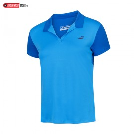 BABOLAT PLAY POLO 3WP1021 WOMEN BLUE ASTER