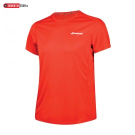 BABOLAT TEE-SHIRT CORE FLAG CLUB TEE 3BS18011 BOY JUNIOR ROUGE