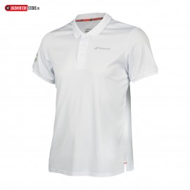 BABOLAT POLO CORE CLUB 3BS18021 BOY JUNIOR BLANC