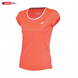 BABOLAT TEE-SHIRT FLAG CORE 3GS18011 GIRL FLUO STRIKE