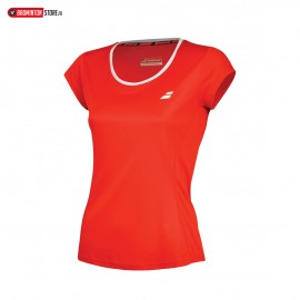 BABOLAT TEE-SHIRT FLAG CORE 3WS18011 WOMEN ROUGE