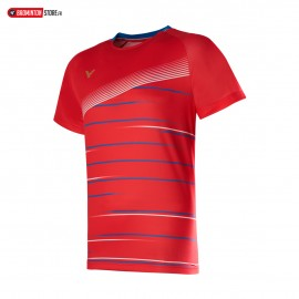 VICTOR T-SHIRT T-00003 ROUGE