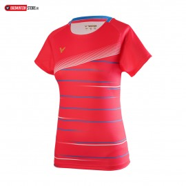 VICTOR T-SHIRT T-01003 ROUGE
