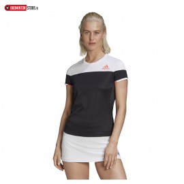 ADIDAS COLOR BLOCK TEE WOMEN NOIR