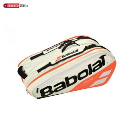 BABOLAT RHX12 PURE STRIKE WHITE RED